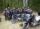 Freundliche Motorrad Gang