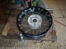 Das war harte Arbeit den Reifen runter zu bekommen -((